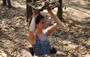 Guided Visit to the Cu Chi Tunnels and Traditional Lunch - Departure from Ho Chi Minh City