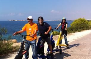 Guided Trikke Ride on the Athenian Coast