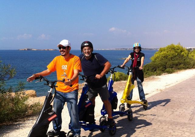 Balade guidée en trikke sur la côte athénienne - Athènes -