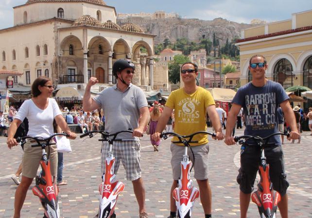 Visite guidée en trikke d'Athènes, de l'acropole à la partie moderne - Athènes -