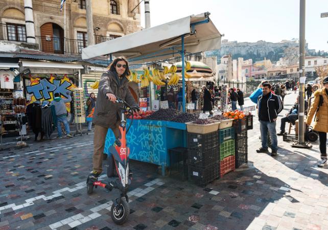 Balade gourmande en trikke dans Athènes - Athènes -