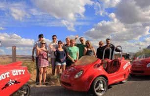 Visita del Red Rock Canyon in Scootercar