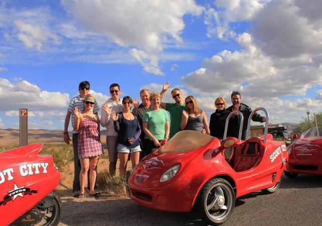 Visite du Red Rock Canyon en Scootercar - Las Vegas -