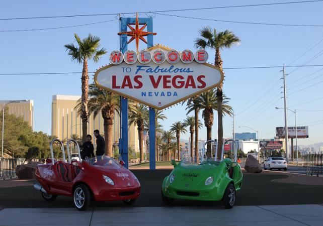 Visite de Las Vegas en Scootercar - Las Vegas -