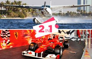 Seaplane Flight from Dubai to Abu Dhabi & Tour of Ferrari World Abu Dhabi