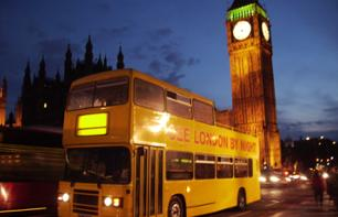 Bustour in London bei Nacht