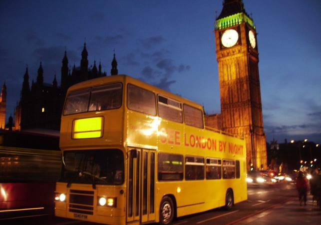 Bus Tour Londres by night - Londres - Ceetiz