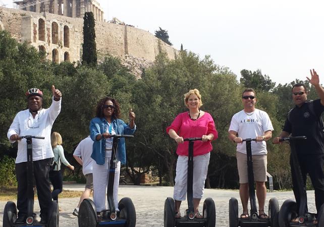 Photo Visite guidée en Segway de l'Acropole d'Athènes
