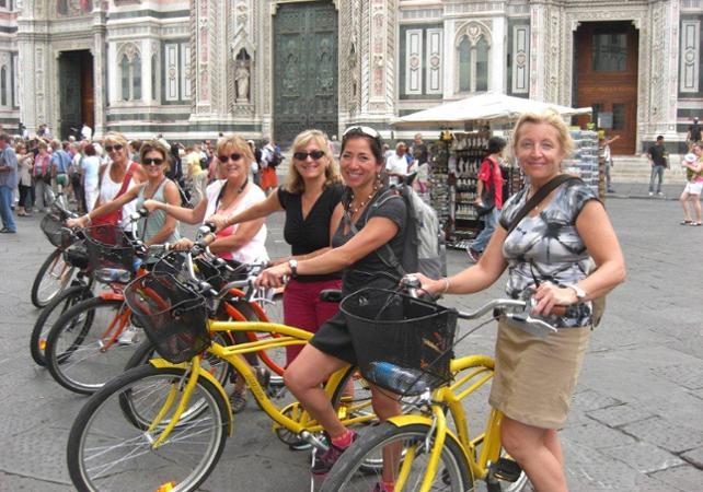 Visite guidée de Florence en vélo - Florence -