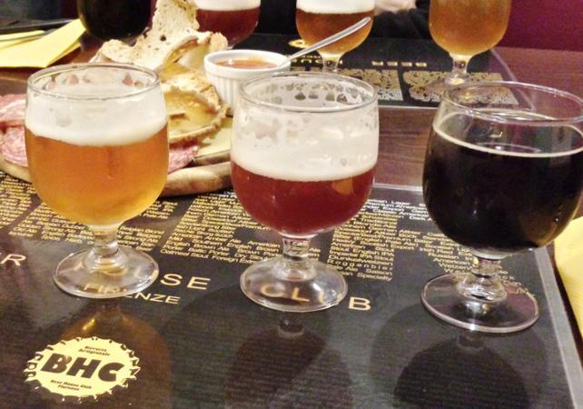 Photo Dégustation de bières Italiennes