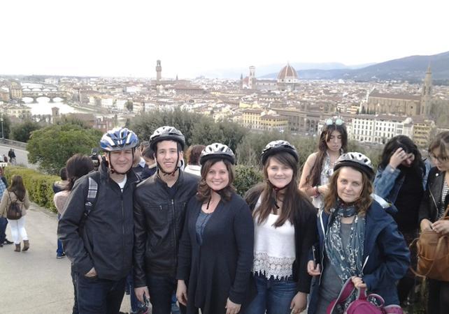 Tour guidé de Florence à vélo au coucher du soleil - Florence -