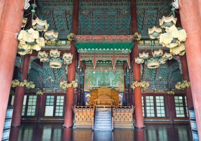 Photo Visite guidée du Palais Changdeok et du sanctuaire royal Jongmyo