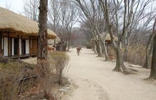 Guided visit of the Korean folk village