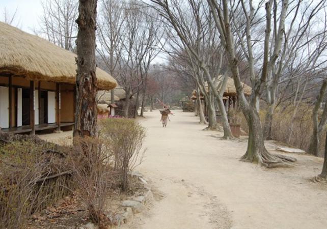 Photo Visite guidée du village folklorique coréen