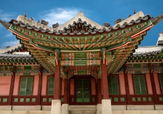 Photo Visite guidée du palais Changdeokgung, du sanctaire Jongmyo et de la forteresse de Suwon