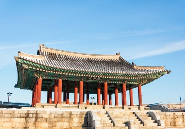 Photo Visite guidée de la forteresse de Suwon et du village folklorique coréen