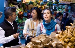 Guided Tour of Malaga's Grocery Shops and Cooking Class Revolving Around Tapas