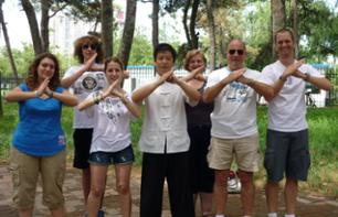 Kung fu Class at the Temple of Heaven in Beijing