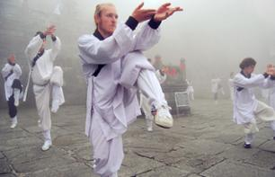 Tai chi Class at the Temple of Heaven in Beijing
