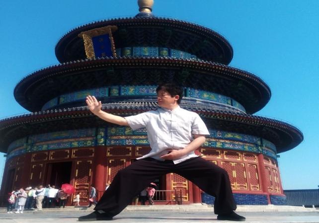 Cours de Tai-chi et visite du Temple du Ciel de Pékin - Pekin -