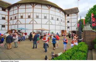 Guided tour of Shakespeare's Globe Theatre & Exhibitions – London