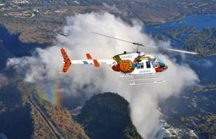Helicopter Ride over Victoria Falls – 13 or 26 minutes