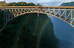 Bungy Jump from Victoria Falls Bridge – Extreme jump from 111 metres