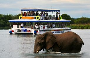 Sunset Boat Trip on The Zambezi River – Departing from Victoria Falls