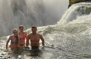 Discover Livingstone Island & Swim in a Natural Pool at Victoria Falls