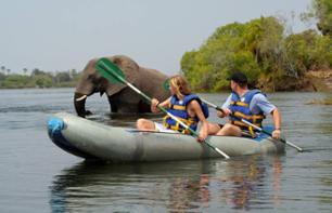 Canoe Safari on The Zambezi River – Departing from Victoria Falls