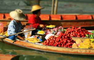Floating Market and Rose Garden