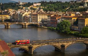 Florence Hop-on Hop-off Bus Tour – 1-day, 2-day or 3-day Transport Pass