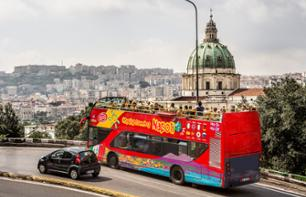 Naples Hop-on Hop-off Bus Tour – 1-day Pass