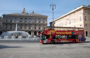 Hop On Hop Off Bus Tour of Genoa – 24 Hour Transport Pass
