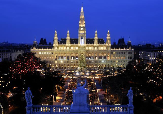 Visite de Vienne de nuit et spectacle traditionnel-départ/retour hôtel image 1