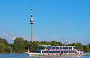 Panoramic Boat Tour of Vienna - leaving from your hotel