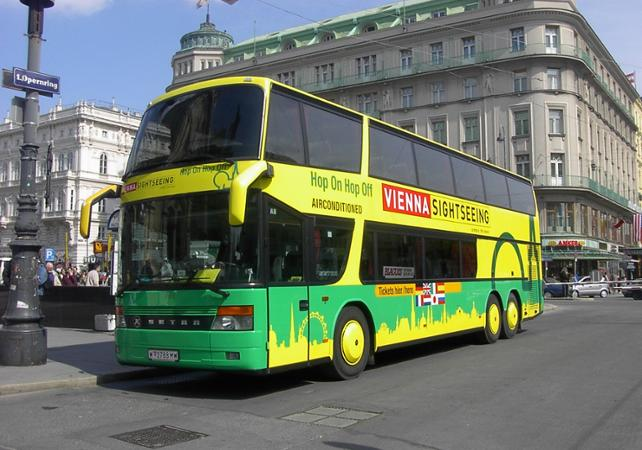 Pass transport - bus à arrêts multiples 24h, 48h ou 72h - Vienne image 1