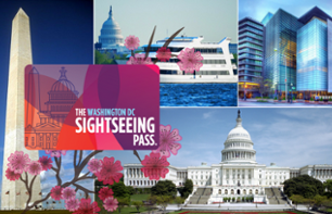 Sightseeing Flex Pass Washington DC - Tour en bus à arrêts multiples + 1, 2 ou 4 attractions au choix