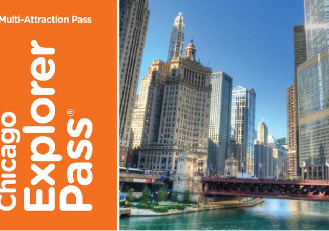 Explorer Pass Chicago - 3, 4 ou 5 attractions au choix - Chicago - Ceetiz