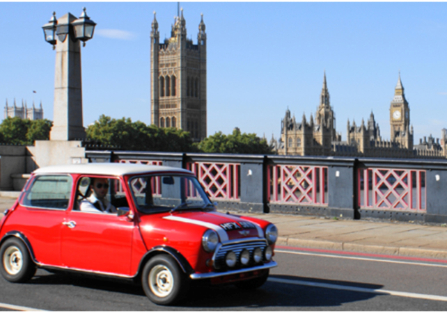 Rundfahrten im mini sightseeing tour in london im for Tour city londres