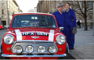 """The Italian Job"" themed tour of London by Mini"