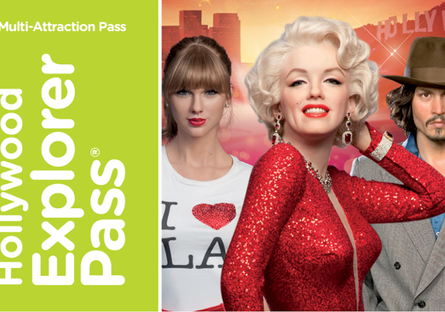 Explorer Pass Hollywood - 4 attractions au choix - Los Angeles -