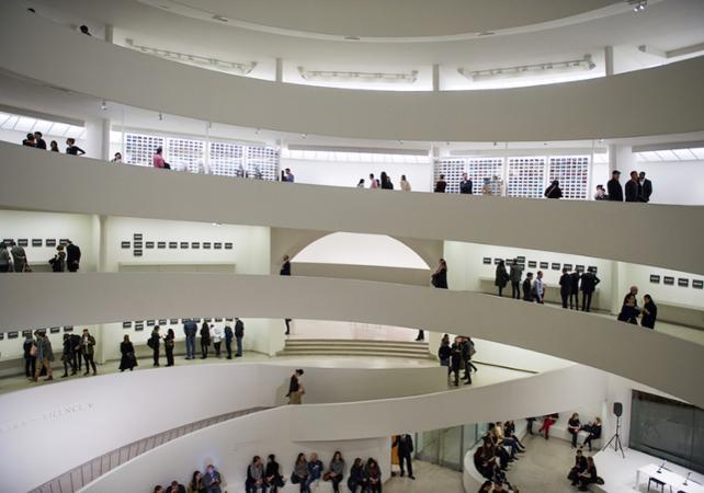 Guggenheim Billet Mus 233 E Guggenheim 224 New York