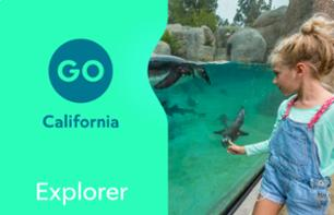 California Explorer Pass - 3, 4, or 5 Activities