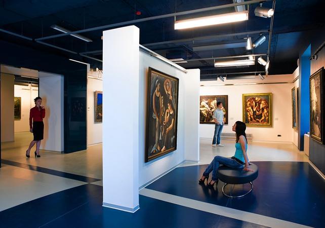 Visite guidée sur l'Art Russe : du classique au moderne - Départ/retour hôtel - Saint Petersbourg -