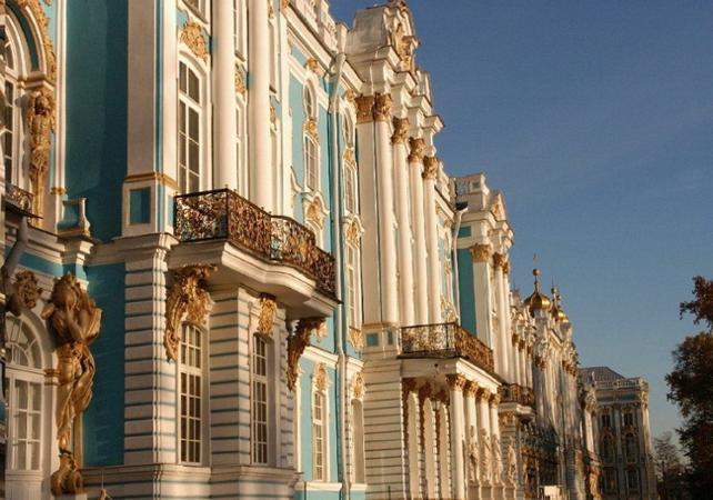 Visite guidée des résidences impériales de Saint-Pétersbourg- Départ/retour hôtel - Saint Petersbourg -