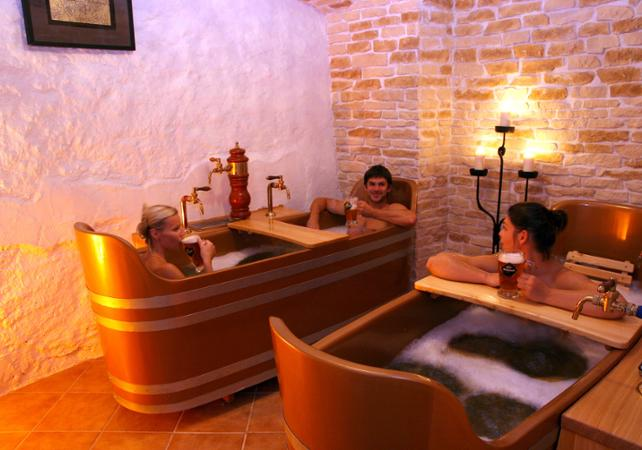 Relaxation au Beer Spa de Prague - Prague -