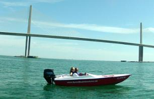 Drive a Speedboat in Tampa Bay – Departure from St. Petersburg (FL)