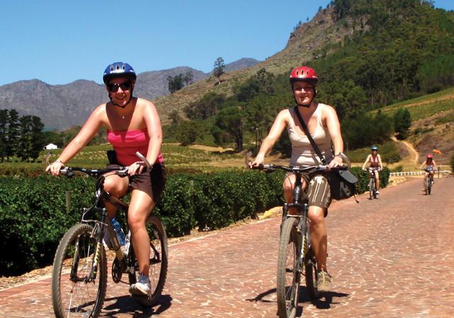 Photo Balade à vélo sur la péninsule du Cap et dégustation de vin