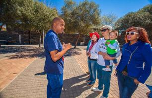Guided tour of Soweto (by minibus and on foot)